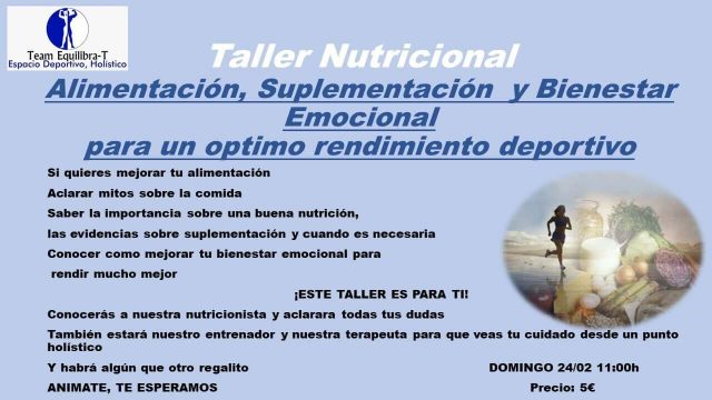 Team equilibra-T taller nutricional