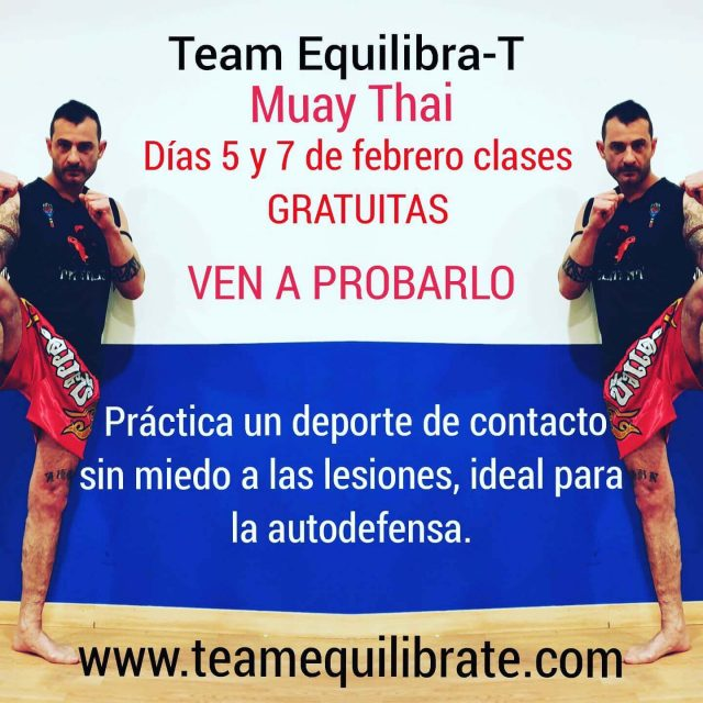 Team equilibra-t muay thai