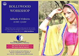 Taller de Bollywood en Madrid en Team- Equilibra-T